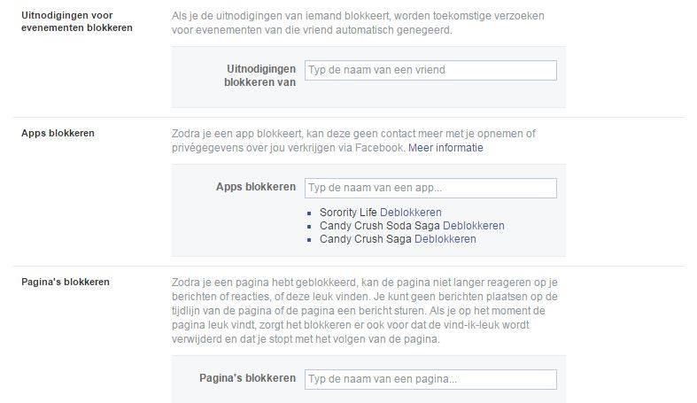 Facebook spelletjes uitnodigingen blokkeren 787x455