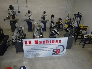 Belettering SD Machines