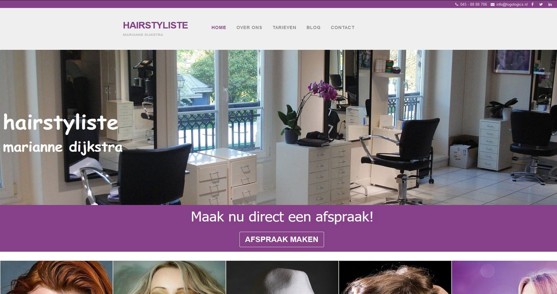 WEBSITE-kapsalon