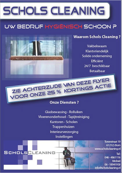 schols-cleaning-flyer