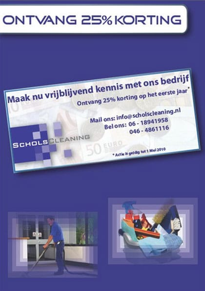 schols-cleaning-korting-flyer