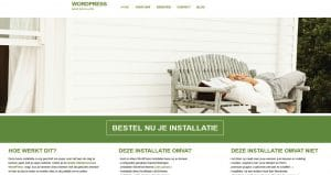 WordPress-installatie-basis