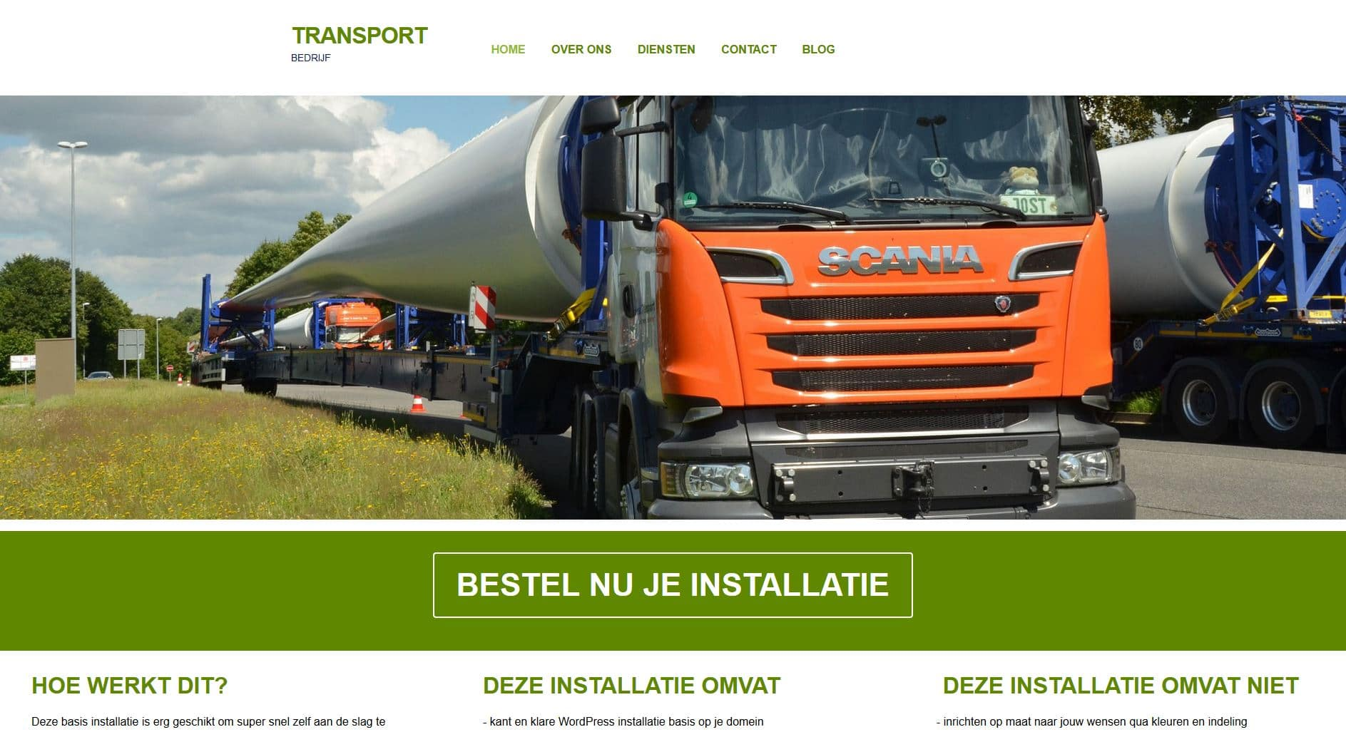 TRANSPORT BUDGETWEBSITE