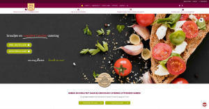 broodjes catering website by LogoLogics