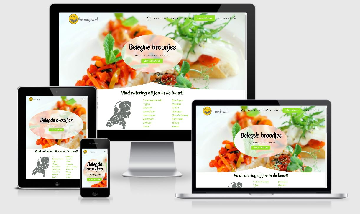 catering webshop