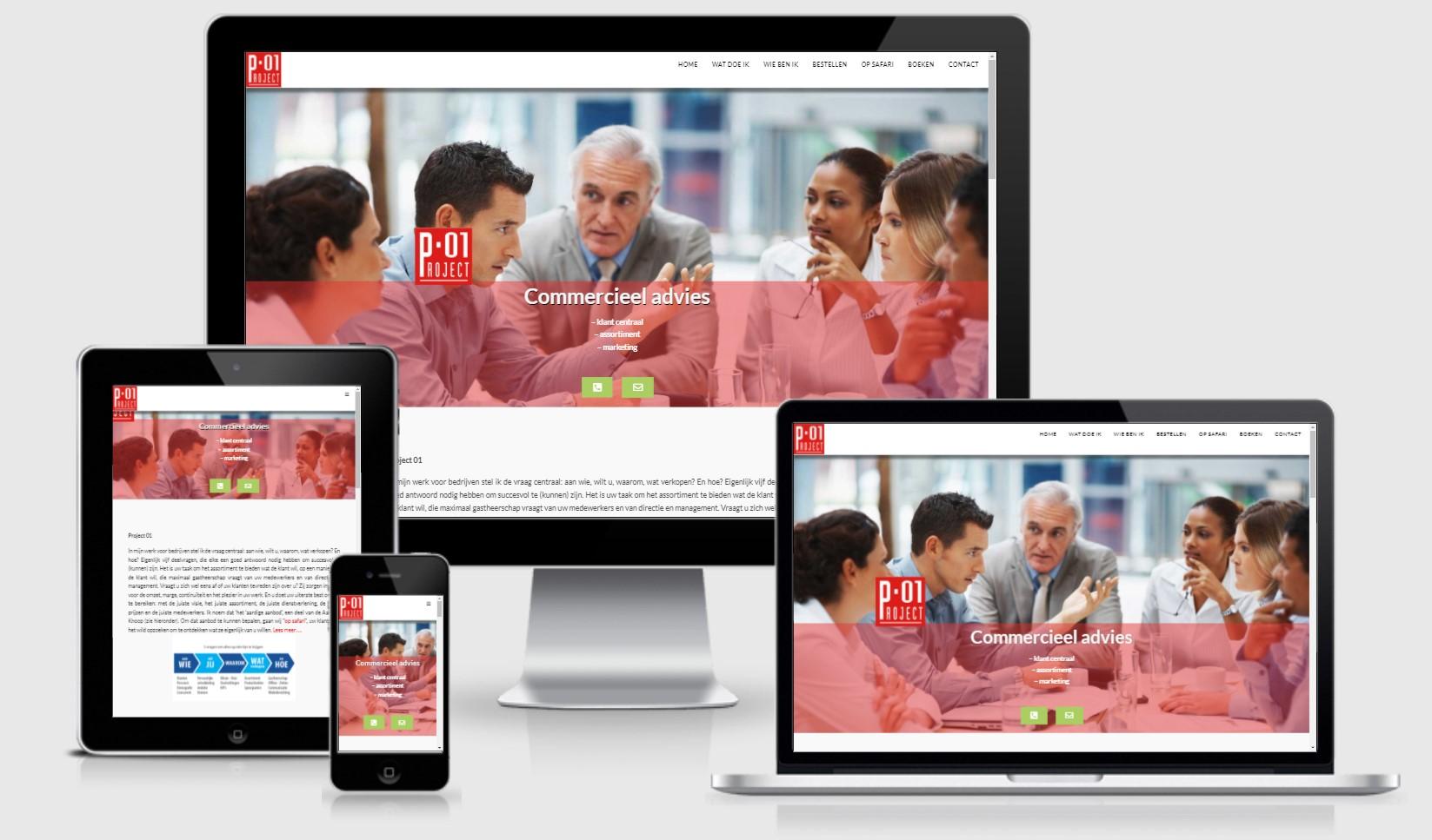 PROJECT01 WEBSITE webdesign LogoLogics
